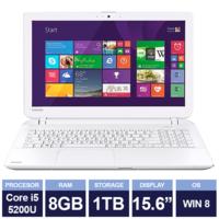 "Ноутбук Toshiba Satellite L50-B-235 White (15,6"" | Intel Core i5 5200U | 8GB RAM | 1TB HDD | Windows 8)"
