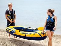 Barcă pneumatică Intex 68367 Challenger 2 Set