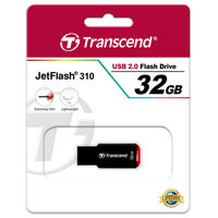 Flash Drive Transcend JetFlash 310 Black 32Gb