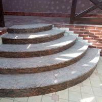 Лестница из Гранита Juparana Exotic