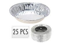 Формы алюминиевые EH 25шт, D10cm