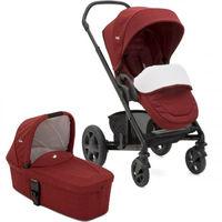 Многофункциональная коляска 2 в 1 Joie Chrome Cranberry - Limited Edition
