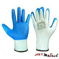 Перчатки покрытые нитрилом Rnit синие