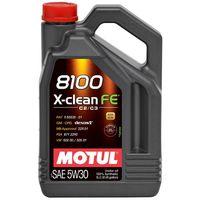 Масло моторное Motul 5L, 5W30 8100 X-CLEAN FE 5