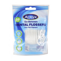 Зубная нить Active Oral Care Active Oral Care Dental Flossers, 50 шт.