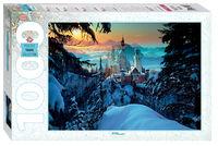 """Mozaic """"puzzle"""" 1000 """"Bavaria. Castelul Neuschwanstein"""", cod 40765"""