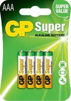 купить Батарейка GP 1.5V Super 24A-2UE4   (24A-U4)   (4 шт.блистер) в Кишинёве