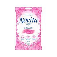 Салфетки для интимной гигиены Novita 15 шт