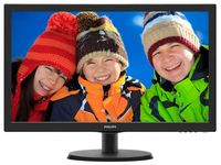 "21.5"" PHILIPS LED 223V5LHSB2 Black"