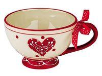 Чашка керамическая Love Story 610ml