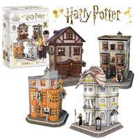 CubicFun пазл 3D Harry Potter Diagon Alley