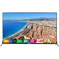 TV Bravis ELED-55Q5000 Smart + T2, Black