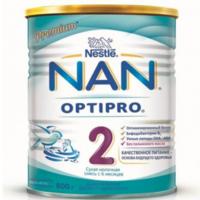 Nestle Nan 2  молочная смесь, 6+ мес. 800г