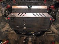 !         !          HYUNDAIAccent MC2006 - 2010  Сталь 2.2mm ЗАЩИТА КАРТЕРА SHERIFF | Защита двигателя
