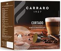 Capsule pentru aparatele de cafea Carraro Cortado Compatible Dolce Gusto 16caps
