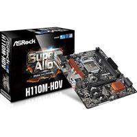 ASRock H110M-HDV, S1151 Intel H110 mATX