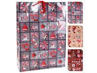 """купить Пакет подарочный """"Новогодняя игрушка"""" 34.5X25X8.5cm в Кишинёве"""