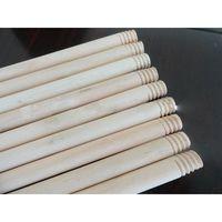 Ручка  для щетки деревянная  с резьбой 125см 90790