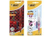 Ручка перьевая BIC Easy Clic + запаска, синяя