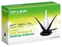 купить TP-Link Wireless Antenna  TL-ANT2403N, 3dBi, 2.4GHz,Desctop 3-Antenna, Lotus style, 1m cable, RP-SMA connector, support 11n 2T3R/3T3R в Кишинёве