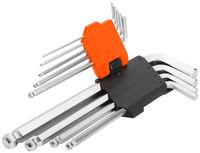 Ключи шестигранные (1,5-10mm 9шт) с футляром Wokin