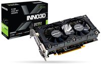 INNO3D GeForce GTX 1070 X2 V4 / 8GB GDDR5, 256bit, 1683/8000Mhz, 2x DVI, HDMI, DisplayPort, Dual Fan, HerculeZ Design, Inside the Box: 3D Mark/VR Mark