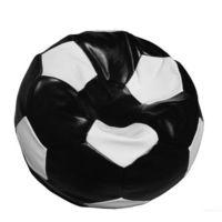 Fotoliu - sac Football Big, negru/alb