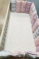 Комплект постельного белья в кроватку Pampy розовый
