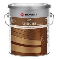 Tikkurila Лак для защиты бани Supi Saunasuoja 2.7л