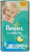 Pampers Active Baby Junior  5 (11-18 кг.) 64 шт.