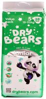 Dry Bears Slim&Cool 5 Junior (15-25 кг) 38 шт.