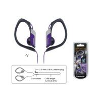 Clip Type Earphones Panasonic RP-HS34E-V Violet
