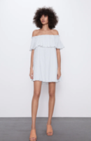 Платье ZARA Белый 0881/138/250