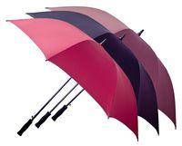 Зонт-трость мужской одноцветный 75сm