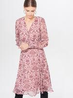 Платье MOHITO Розовый с принтом xh519
