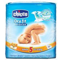 Chicco подгузники junior 5, 12-25 кг, 17 шт