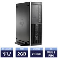 Настольный компьютер HP Compaq 8200 Elite SFF (Intel Core i3-2100 | 2 GB | 250GB| Windows 7 Pro)