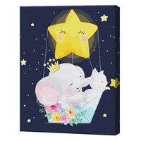 Zborul prin stele, 40х50 cm, pictură pe numere Articol: GX36158