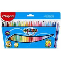 MAPED Фломастер MAPED Long Life, 24 цвета