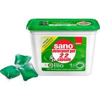 Sano Gel detergent BIO capsule, 22 buc.