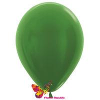 купить Воздушные шары , зеленый  перламутр - 30 см в Кишинёве