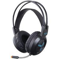 Headset Gaming Esperanza ASGARD EGH410, Blue LED backlight, 1x mini jack 3.5mm + 1x USB 2.0, Drivers 40mm, Volume control, Cable length 2m, Weight 290g