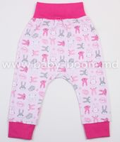 Veres 104-2.44.62 Штанишки Hello Bunny pink (интерлок) р.62