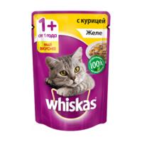 Whiskas желе ( с курицей) 85гр