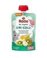 Пюре Kiwi Koala с грушей, бананом, и киви с 8 месяцев Holle Bio Organic, 100 г