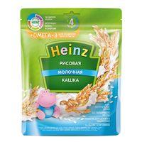 Heinz каша рисовая молочная Omega 3, 4+мес. 200г