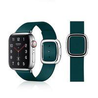 VPG Tethys Series Real leather, Ремешок для часов iWatch strap, 40mm, Зеленый
