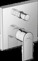 Vernis Shape Baterie pentru cadă, cu instalare ascunsă