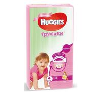 Трусики Huggies Little Walkers 4 Girl (9-14 кг) 52 шт