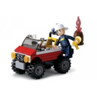 КОНСТРУКТОР Fire Police car  58pcs